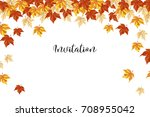 an illustration with bright... | Shutterstock .eps vector #708955042