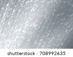snowflakes particles and bokeh... | Shutterstock . vector #708992635