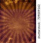 multicolor sunbeams grunge... | Shutterstock . vector #709009162