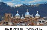 cuenca  azuay   ecuador  ... | Shutterstock . vector #709010542