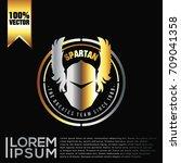 spartan logo vector | Shutterstock .eps vector #709041358