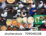 bangkok street food has many... | Shutterstock . vector #709048108