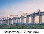 Construction Of Bridge And...
