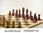 isolated picture   europe chess | Shutterstock . vector #709049776