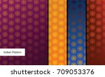 indian pattern   detailed and... | Shutterstock .eps vector #709053376