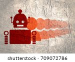 special standing out from the...   Shutterstock . vector #709072786