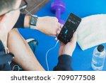 ratchaburi  thailand   august... | Shutterstock . vector #709077508