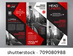 business brochure. flyer design.... | Shutterstock .eps vector #709080988