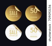 luxury golden badge and labels...