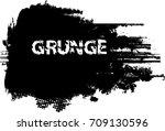 light distress texture. grain ... | Shutterstock .eps vector #709130596