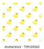 duck seamless pattern | Shutterstock .eps vector #709134262