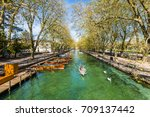 annecy  france   may 25  2016 ... | Shutterstock . vector #709137442