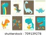 set of birthday banner ...   Shutterstock .eps vector #709139278