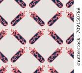 alchemy seamless pattern...