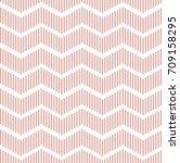 seamless geometric zigzag...   Shutterstock .eps vector #709158295