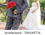 wedding day | Shutterstock . vector #709169776