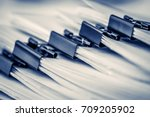 extreamely close up  stacking... | Shutterstock . vector #709205902