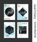 marble vector covers design.... | Shutterstock .eps vector #709211995