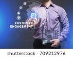 business  technology  internet... | Shutterstock . vector #709212976