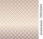 white rose gold geometric... | Shutterstock .eps vector #709220692