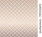 white rose gold geometric... | Shutterstock .eps vector #709220692