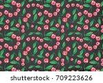 fun kids seamless pattern | Shutterstock . vector #709223626