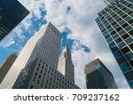 new york city  circa 2017  view ... | Shutterstock . vector #709237162