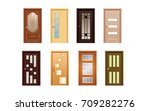 collection of colorful... | Shutterstock .eps vector #709282276