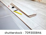 laminate boards prepared for... | Shutterstock . vector #709300846