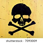 Skull and crossbones from an...