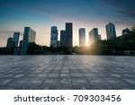 city square at shenzhen china | Shutterstock . vector #709303456