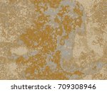 natural rusty texture ... | Shutterstock .eps vector #709308946