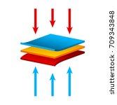 vector fabric structure...   Shutterstock .eps vector #709343848