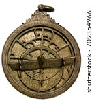 Astrolabe Ancient Astronomical Device For - Fine Art prints