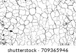 vector texture of dry ground... | Shutterstock .eps vector #709365946