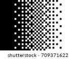pixel gradient pattern classic...   Shutterstock .eps vector #709371622