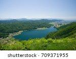 lake kizakiko  omachi  japan | Shutterstock . vector #709371955