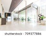 Blur Hotel Or Office Lobby...