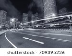 central district of hong kong... | Shutterstock . vector #709395226