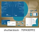 folder template design for... | Shutterstock .eps vector #709430992