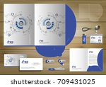 folder template design for... | Shutterstock .eps vector #709431025