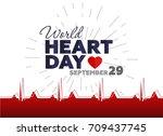vector illustration for world... | Shutterstock .eps vector #709437745