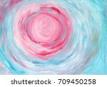 abstract hand painted... | Shutterstock . vector #709450258