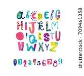 Creative Alphabet For Kids.