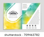 abstract vector layout... | Shutterstock .eps vector #709463782