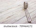 Close Up Tailor Measuring Tape...