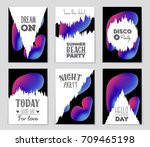 abstract vector layout... | Shutterstock .eps vector #709465198