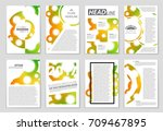 abstract vector layout... | Shutterstock .eps vector #709467895