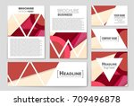 abstract vector layout...   Shutterstock .eps vector #709496878