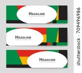 abstract vector layout... | Shutterstock .eps vector #709496986